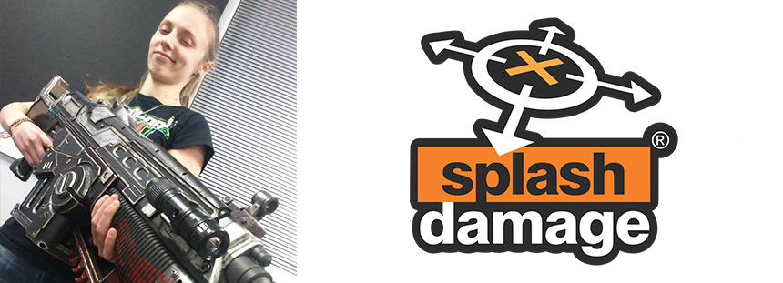 Sarah, Animatrice chez Splash Damage